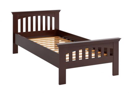 Ліжко дитяче - Дерево (Сорт - Дуб) - Лаванда - 120х190 см