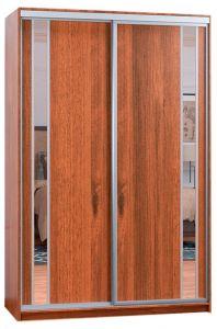 Фото Шафа купе - Софіно - 2 двері - Комбі-30 + Комбі-30 - ширина 100 см, глибина 45 см, висота 180 см - sofino.ua