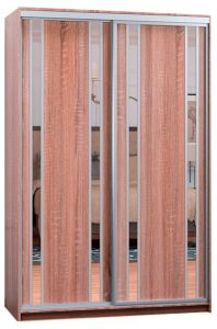 Фото Шафа купе - Софіно - 2 двері - Комбі-33 + Комбі-33 - ширина 100 см, глибина 45 см, висота 180 см - sofino.ua