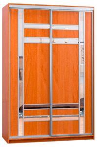 Фото Шафа купе - Софіно - 2 двері - Комбі-34 + Комбі-34 - ширина 100 см, глибина 45 см, висота 180 см - sofino.ua