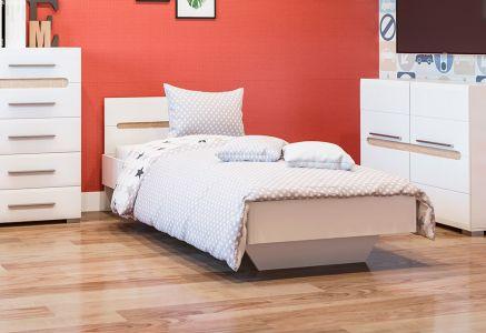 Ліжко «Глянцева Бьянка» 90*200