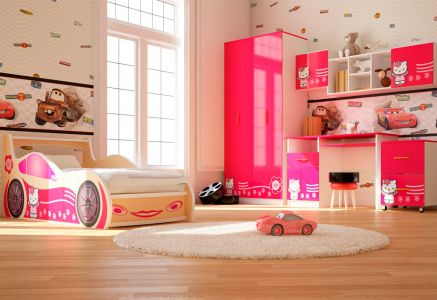 Фото Дитяча кімната Кітті Віоріна-Деко ДСП + Фотодрук - sofino.ua