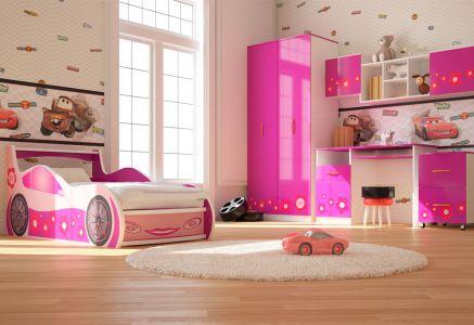 Фото Дитяча кімната Лілі Віоріна-Деко ДСП + Фотодрук - sofino.ua