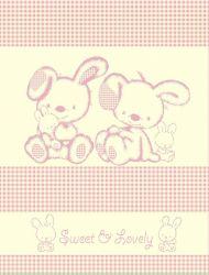 Плед «Sweet Pink + Игрушка» 100*120 (детский)