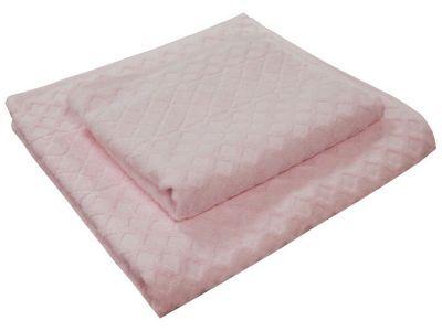 Рушник махровий «Glossy» 50*90 | Рожевий