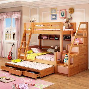 Фото Ліжко з додатковим спальним місцем «Premium-7» 80*200 + 120*200 + 90*190 - sofino.ua