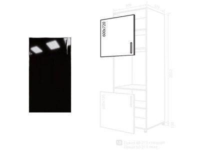 Фасад • Мода • 60*72 • Чорний лак