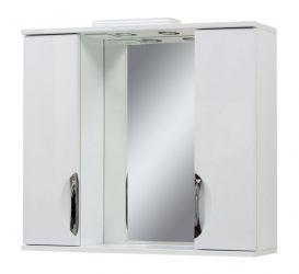 Зеркало «Laura-85» c двумя шкафчиками