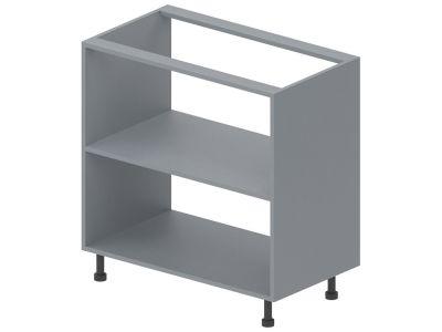 Корпус модулю №7 низ «Стандарт» 80*82   Сірий металік