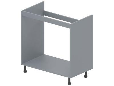 Корпус модулю №14 низ «Стандарт» 80*82   Сірий металік