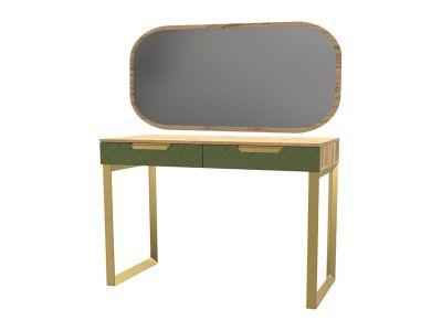 Стіл з шухлядками та дзеркалом «Свон» Балі зелений
