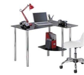 Компьютерный стол «P-9» (Прозрачный)