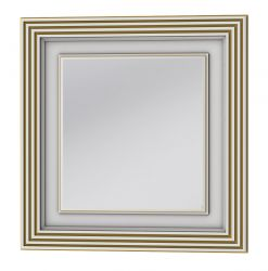 Зеркало TM-80 «Treviso» белый/медь