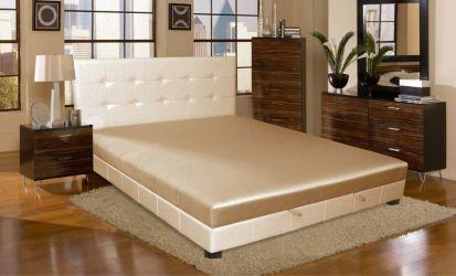 Кровать-подиум «Клеопатра-2» 140*200 без механизма с ламелями