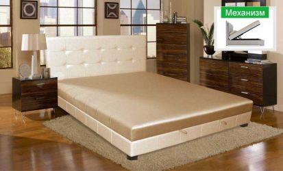 Кровать-подиум «Клеопатра-3» 140*200 без матраса с механизмом