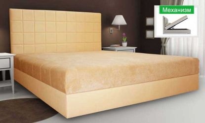 Кровать-подиум «Клеопатра Люкс-3» 160*200 без матраса с механизмом