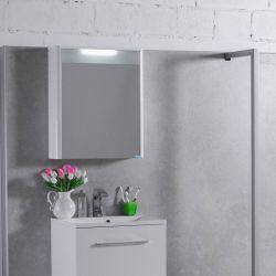 Шкафчик зеркальный «МС-Santorini 600»