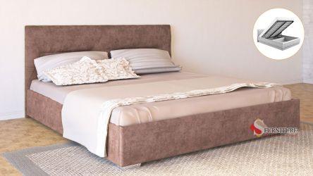 Кровать-подиум «Ирена» с подъемным механизмом 140*200 | Ткань