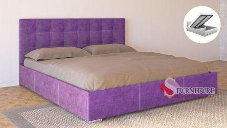 Кровать-подиум «Барбара» с подъемным механизмом 140*200   Ткань