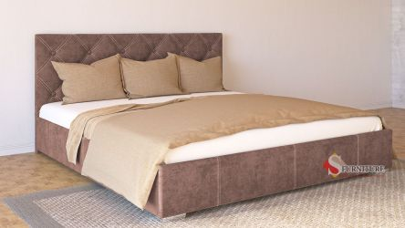 Кровать-подиум «Марта» 140*200 | Ткань