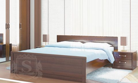 Фото Кровать «Сон с ламелями» - sofino.ua