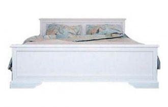 Ліжко для спальні Гербор Клео ДСП Білий