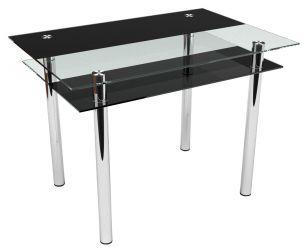 Стеклянный кухонный стол «Copy»