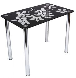 Стеклянный кухонный стол «Wanda»