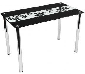 Стеклянный кухонный стол «Breda»