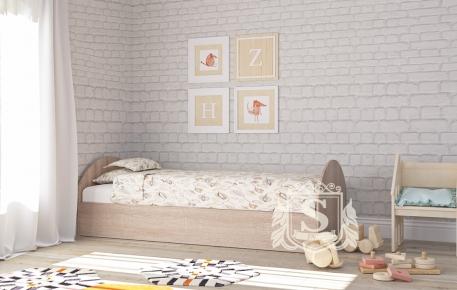 Фото Односпальная кровать «КР-104» - sofino.ua