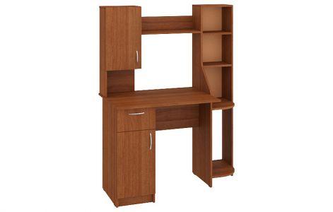 Компютерний стіл Імпульс Пехотін • 112,5х60х145 • Лісовий горіх