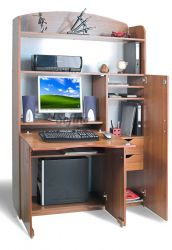Компьютерный стол БЮРО Б-4 «Престиж» меламин