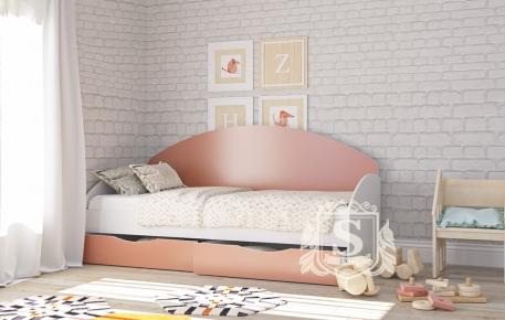 Фото Кровать «Горизонт» с ящиками - sofino.ua
