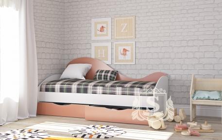 Фото Кровать «Идеал» с ящиками - sofino.ua