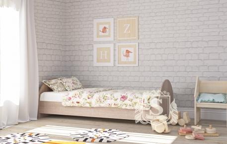 Фото Односпальная кровать «КР-8»  - sofino.ua