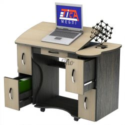 Письменный стол СУ-4 К «Универсал» меламин