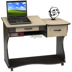 Письменный стол СУ-5 К «Универсал» меламин