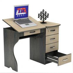 Письменный стол СУ-6 «Универсал» меламин