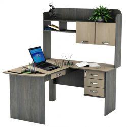 Угловой Компьютерный стол СУ-14 «Универсал» меламин