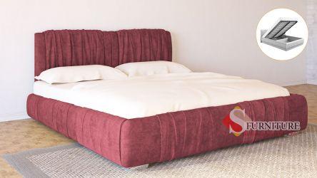 Кровать-подиум «Шарлотта» с подъемным механизмом 140*200   Ткань