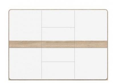 Шкафчик 2D4S «Либерти» Дуб сонома | Белый глянец