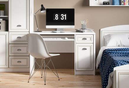 Стол письменный BIU_1D1S «Салерно»