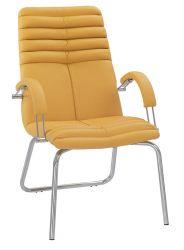 Кресло «GALAXY steel CFA LB chrome» ECO