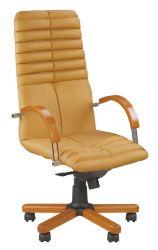 Кресло Wood  «GALAXY wood chrome» HB