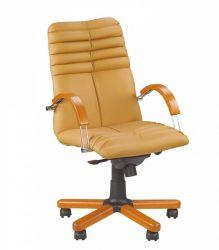 Кресло Wood  «GALAXY wood chrome» LB