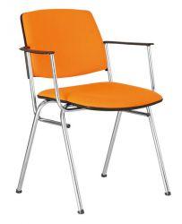 Кресло «ISIT LUX arm chrome» ZT