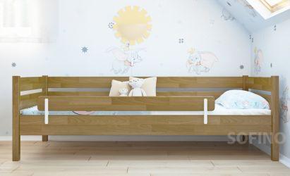 Кровать «Нота» + борт 140см еврощит 80*190
