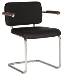 Кресло «SYLWIA lux arm chrome»