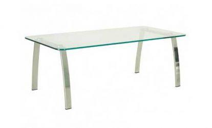 Стол «INCANTO table duo chrome GL»
