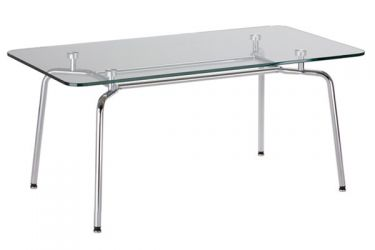Стол «HELLO Table DUO GL chrome»